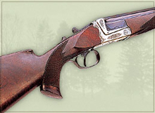 Standard break-open single shot rifle with combi-cocking device.